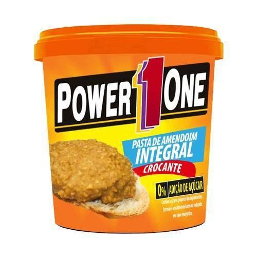 Pasta de Amendoim - Power One - Integral Crocante - 1,005kg