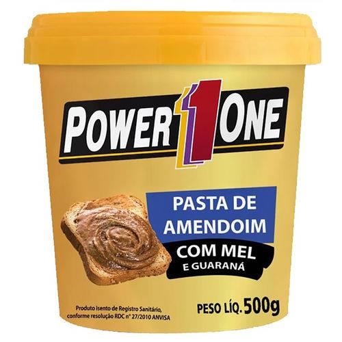 Pasta de Amendoim Power1 One - Gormet Mel e Guarana