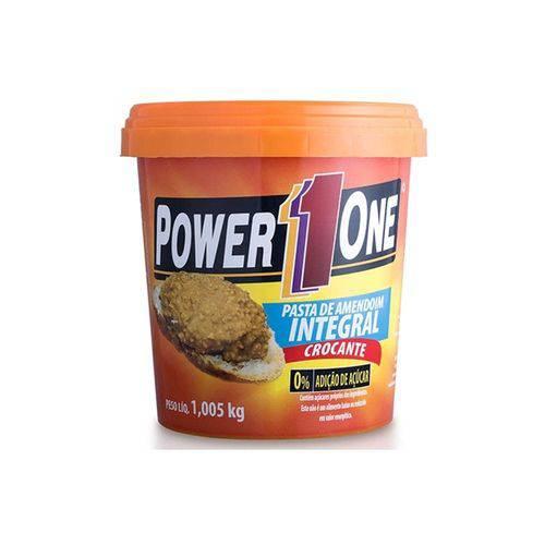 Pasta de Amendoim Power1one 1005kg - Crocante