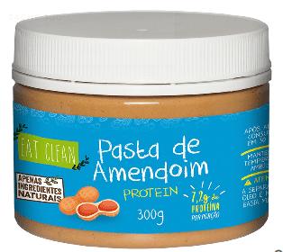 Pasta de Amendoim Protein 300g - Eat Clean