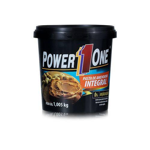 Pasta de Amendoim Torrada Power One 1kg