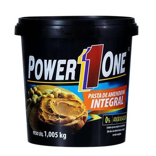 Pasta de Amendoim Torrado Integral 1,005Kg - Power One