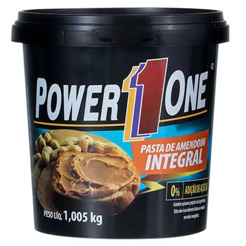 Pasta de Amendoim Tradicional Integral 1,005Kg Power One