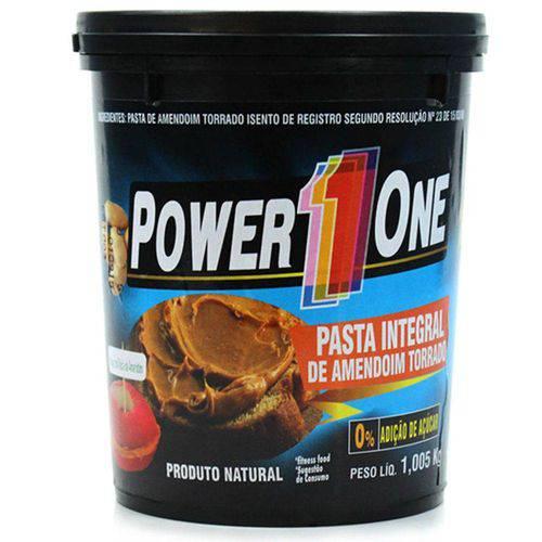 Pasta de Amendoim Tradicional Power One - 1kg