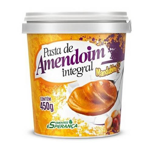 Pasta de Amendoin ( 450 G ) - Mandubim