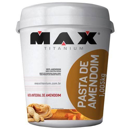 Pasta Integral de Amendoim - 1,005kg - Max Titanium