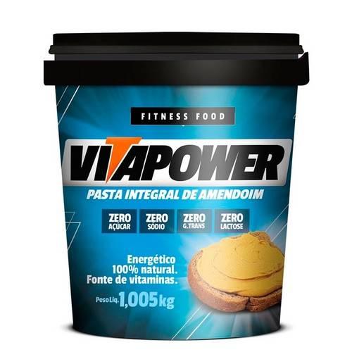Pasta Integral de Amendoim - Vita Power - 1kg