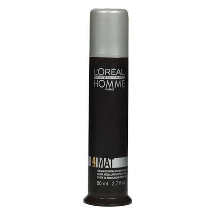 Pasta Mat 4 L'Oréal Homme - 80ml