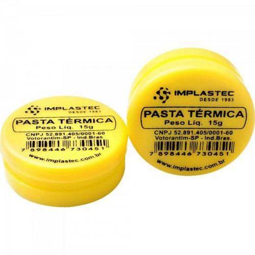 Pasta Térmica de Silicone 15g IMPLASTEC