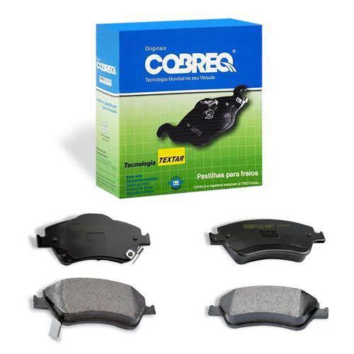 Pastilha de Freio Automotiva Dianteira Cobreq N1366 Carro Corolla 2.0 de 2013 a 2014