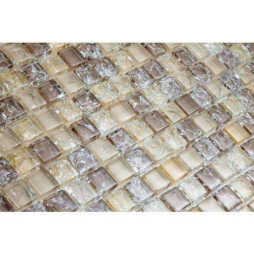 Pastilha de Vidro com Pedras Naturais e Metais 30x30 Tscr290 Tropical Stones