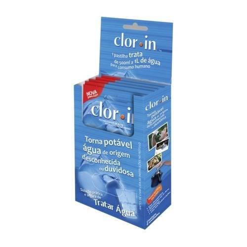 Pastilha Desinfetante para Água de Consumo Humano 6 Un de 1mg - Clorin - Nautika