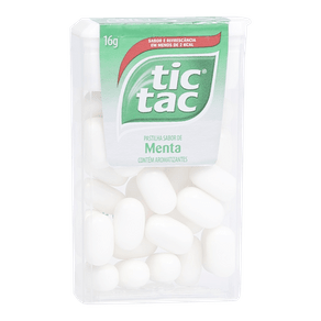 Pastilha Tic Tac Menta 16g