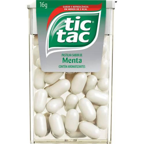 Pastilha Tic Tac Menta Caixa C/ 14