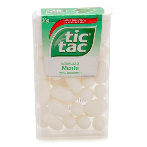 Pastilha Tic Tac Menta com 16g