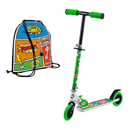 Patinete Comics Verde - Astro Toys
