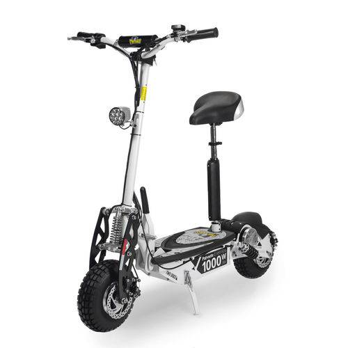 Patinete Elétrico Scooter Two Dogs 1000w 36v Branco + Chaves
