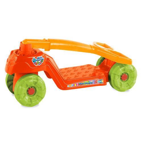 Patinete Mini Scooty - Vermelho/laranja - Calesita