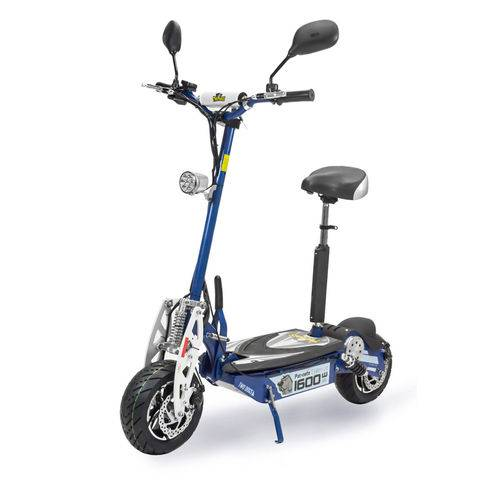 Patinete Scooter Elétrico Two Dogs 1600w 48v Azul