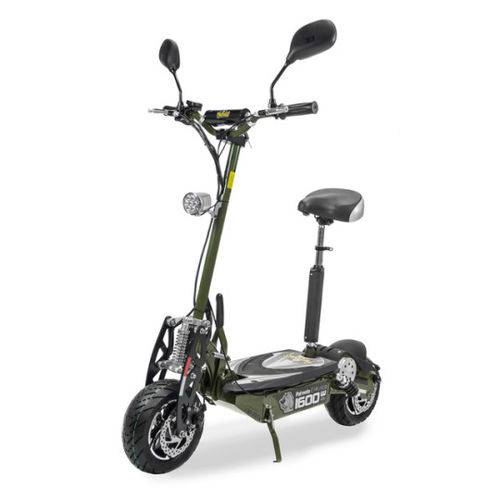 Patinete Scooter Elétrico Two Dogs 1600w 48v com Computador de Bordo Verde