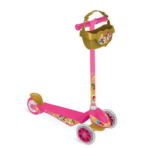 Patinete Skatenet - Disney - Princesas - Bandeirante