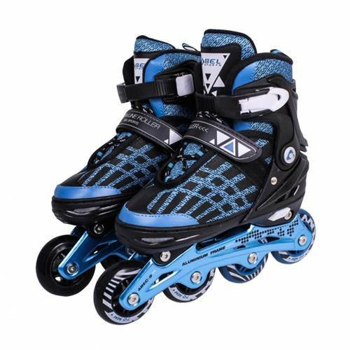 Patins In-line Rollers Top Premium Azul/Preto 34 a 38 Bel Fix