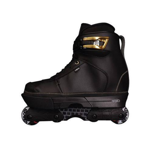 Patins Inline Valo Sk2 Black Gold - Montado