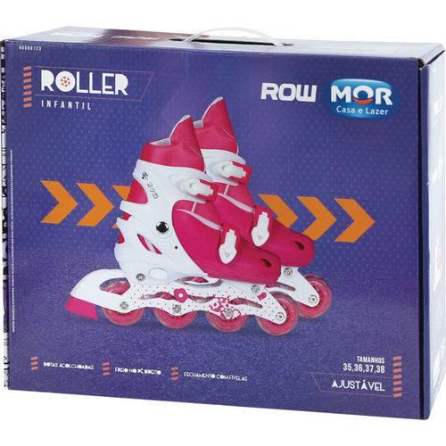 Patins Roller Rosa Tam M 35-38 Mor