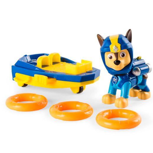 Patrulha Canina Figura de Luxo com Prancha de Lançamento Chase- Sunny