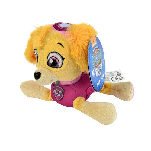 Patrulha Canina - Pelúcia Skye 15 Cm - Sunny