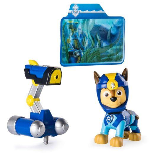 Patrulha Canina Sea Patrol Figura de Luxo Chase Light Up - Sunny