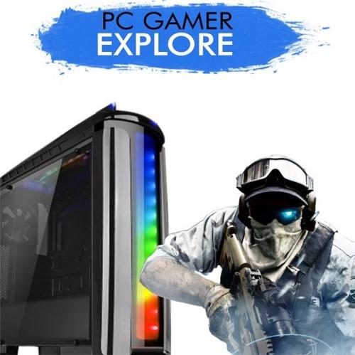PC GAMER EXPLORE - Intel Core I5-7400, GTX 1060 3GB, 1TB, 8GB