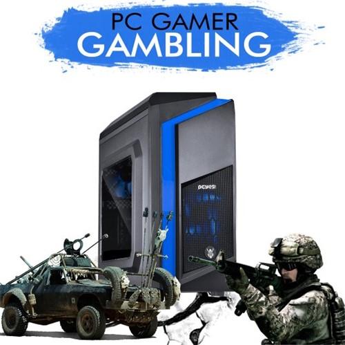 PC GAMER GAMBLING - Intel Core I5-7400, RX 550, 1TB, 8GB RAM