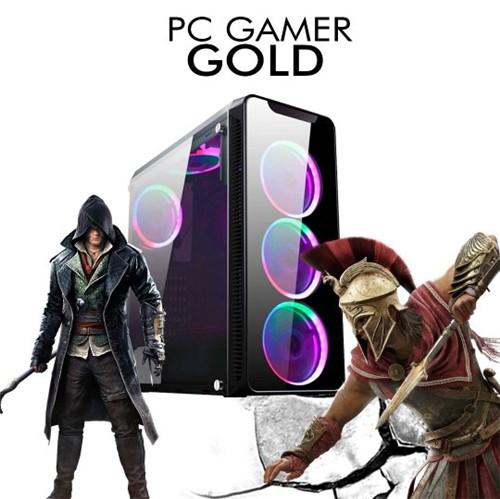 PC GAMER GOLD - Intel Core I5-8400, GTX 2060 6GB, 1TB, 8GB RAM