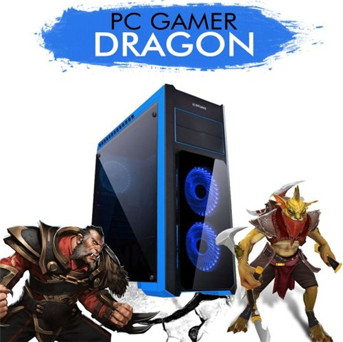 PC Gamer InfoParts DRAGON Core I5-7400 GTX1050TI 4GB 1TB 8GB