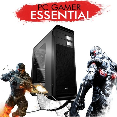 PC Gamer InfoParts ESSENTIAL CORE I3-8100 GTX1050TI 4GB 1TB 8GB