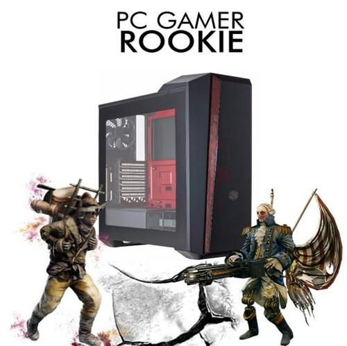 PC Gamer InfoParts ROOKIE Intel I7 8700, GTX 1660TI 6GB 1TB 8GB