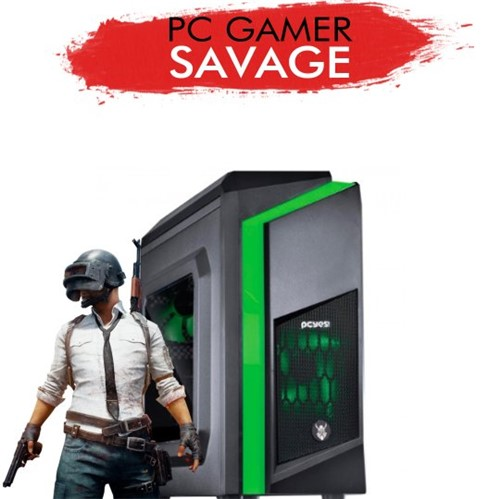 PC Gamer InfoParts SAVAGE - Intel CORE I3-8100 GT 1030