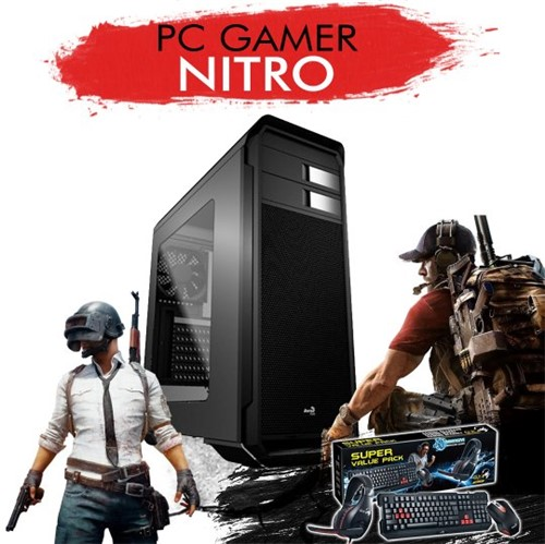 PC Gamer NITRO - I7 7700K, RTX2070 8GB, 1TB, 8GB RAM