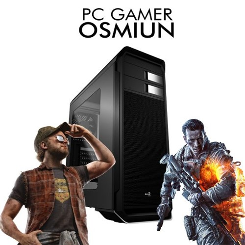 Pc Gamer Osmiun - INTEL Core I3-8100 RX 550 4GB, 1TB, 8GB RAM