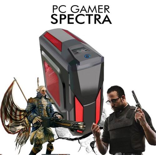 Pc Gamer Spectra - INTEL Core I3-8100 RX 560 4GB, 1TB, 8GB RAM