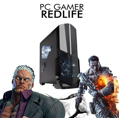 PC InfoParts BASIC REDLIFE - FX-8300, 1 TB, 8GB RAM DDR4