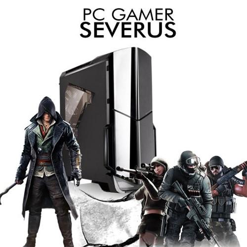 PC InfoParts SEVERUS - Ryzen 3 2200G, RX 570 4GB, 1TB, 8GB RAM