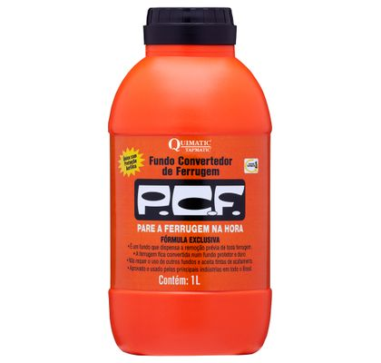 PCF - Fundo Convertedor de Ferrugem 1 Litro Quimatic DD3