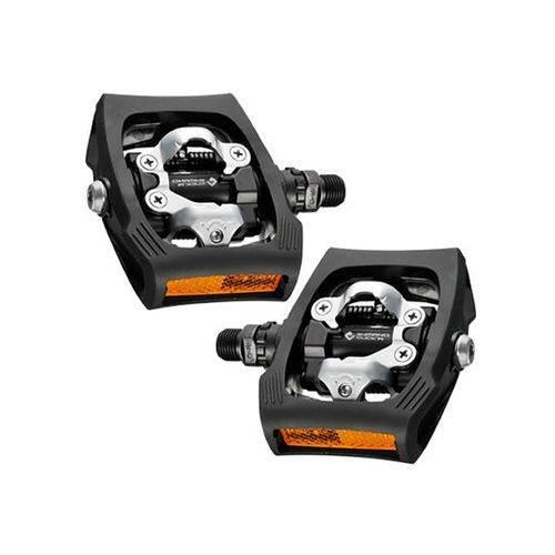 Pedal Clip Shimano Pd-t400 Click R C/refletor Preto - Mtb