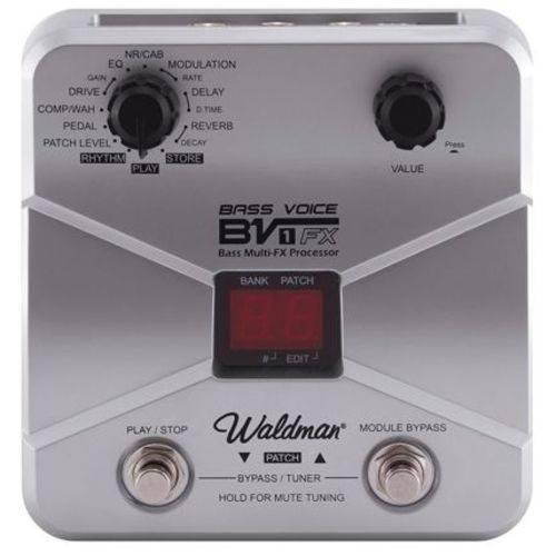 Pedal de Efeito para Contrabaixo Bass Voice Bv-1fx Waldman