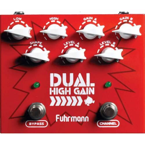 Pedal Fuhrmann Hg02 Dual High Gain Distortion