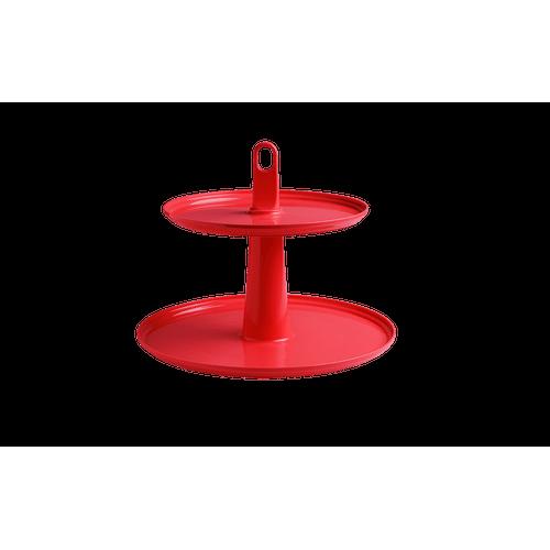 Pedestal Cake 2 Andares 32 X 32 X 27 Cm Pimenta Coza