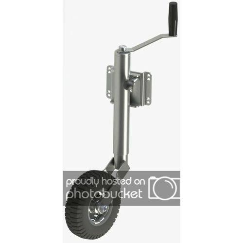 Pedestal Escamoteavel Carrocinha Reboque Carretinha com Roda