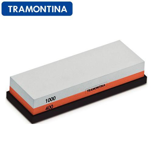 Pedra para Afiar Faca Dupla Face 1000/400 - Tramontina